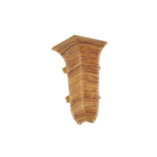 Narożnik wewnętrzny do listwy przypodłogowej 56 dąb podlaski 2 szt. marki Ergo