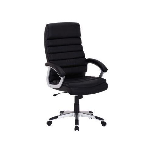 Fotel obrotowy, krzesło biurowe q-087 black marki Signal