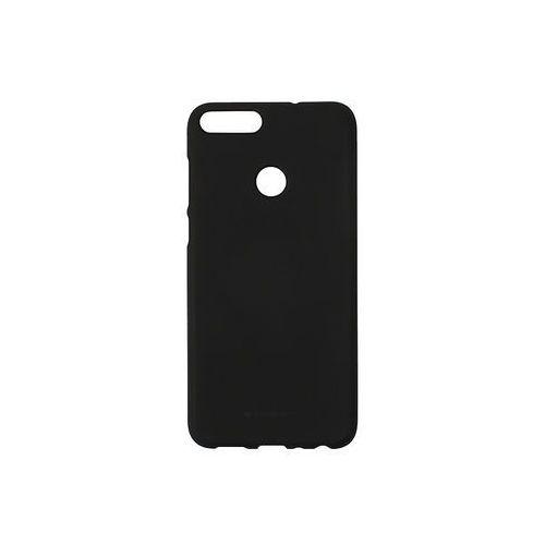 Huawei Enjoy 7S - Mercury Goospery Soft Feeling - czarny, kolor czarny