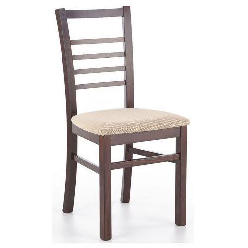 Krzesło drewniane Loren - ciemny orzech