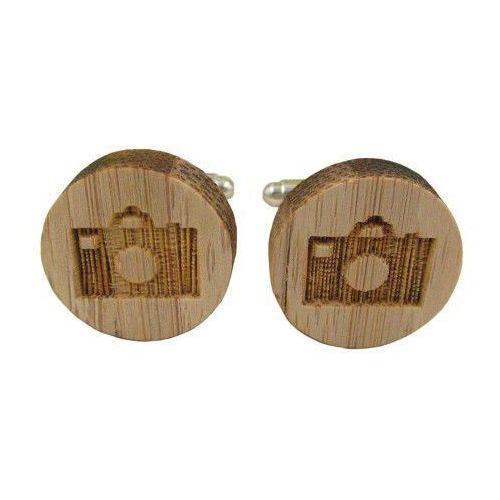 Spinki do mankietów drewniane APARAT, 363