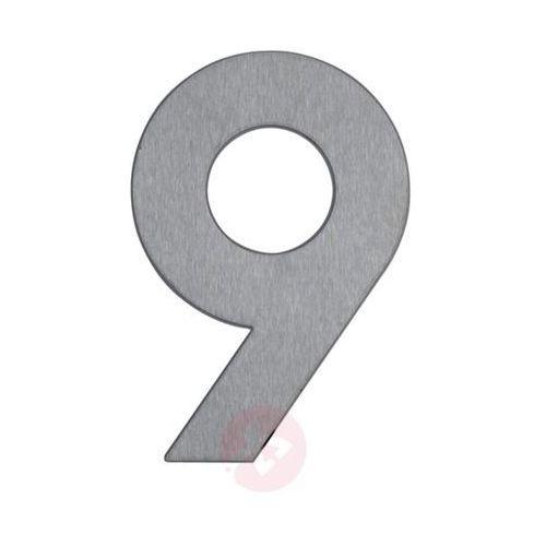 Albert leuchten Numer domu 9 ze stali szlachetnej (4007235909296)