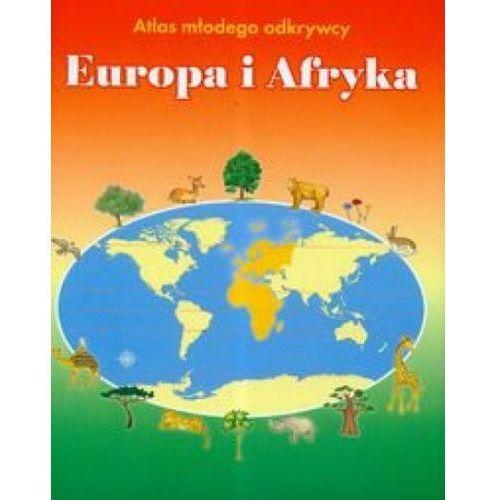 Europa i Afryka Atlas młodego odkrywcy
