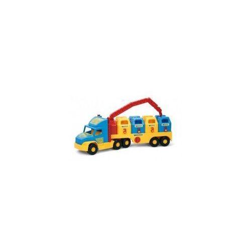 Super Truck Śmieciarka WADER 36530 #A1