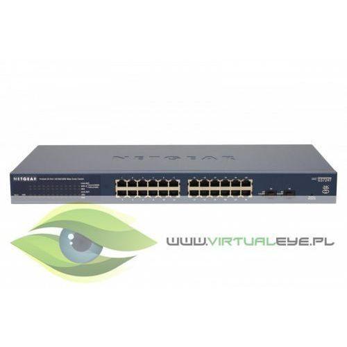 Switch Smart 24xGE 2xSFP - GS724T, 1_351750