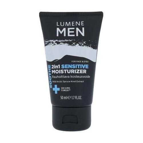 Lumene Men Soothe 2in1 Sensitive Moisturizer 50ml M Krem do twarzy do skóry wrażliwej