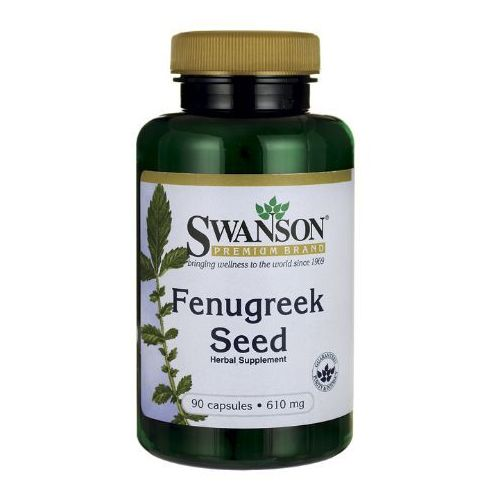 Swanson Fenugreek Kozieradka 610mg 90 kaps.