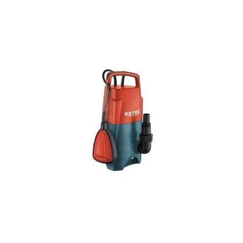 Pompa ściekowa EXTOL PREMIUM SPF 750 Pomarańczowe
