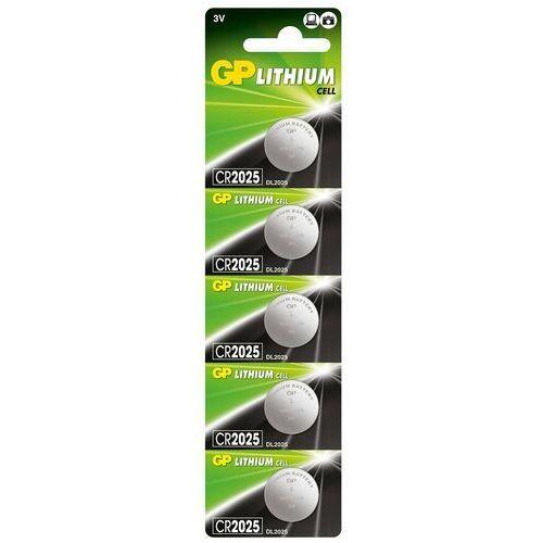 Gp batteries 5 x bateria litowa mini gp cr2025 (4891199001130)