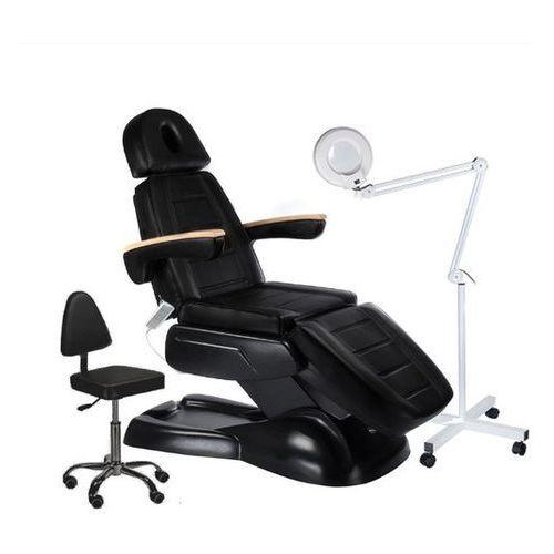 Activ Fotel kosmetyczny lux + zestaw na start 238 czarny