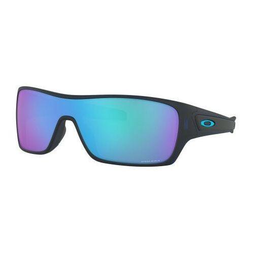 Okulary Oakley TURBINE ROTOR Matte Translucent Blue Prizm Sapphire Iridium OO9307-25