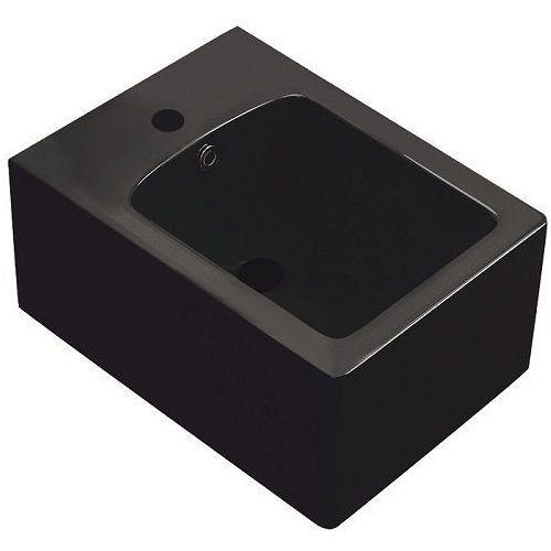 Bidet wiszący wc w kolorze czarnym thor 25 kerra marki Novoterm