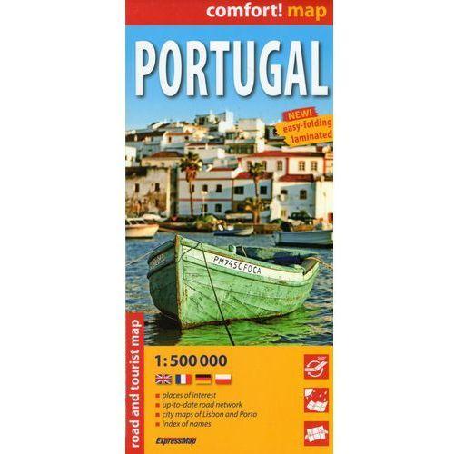 Comfort!map Portugal 1:500 000 (laminat) - Praca zbiorowa, EXPRESSMAP