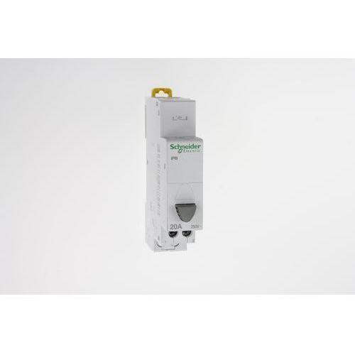 Przycisk zwierny iPB 1P 20A 1NO szary bez lampki A9E18032 Schneider Electric