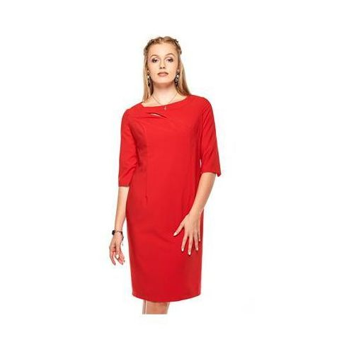 Sukienka model inga red, Vera fashion