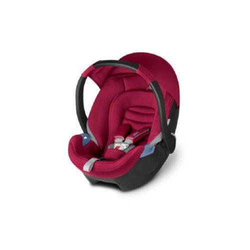Cbx fotelik samochodowy aton crunchy red - kolor czerwony