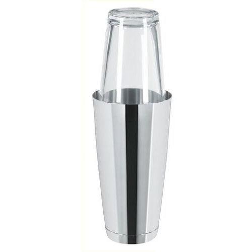 Outlet - boston shaker ze szklanką stalowy | 0,8l marki Tom-gast