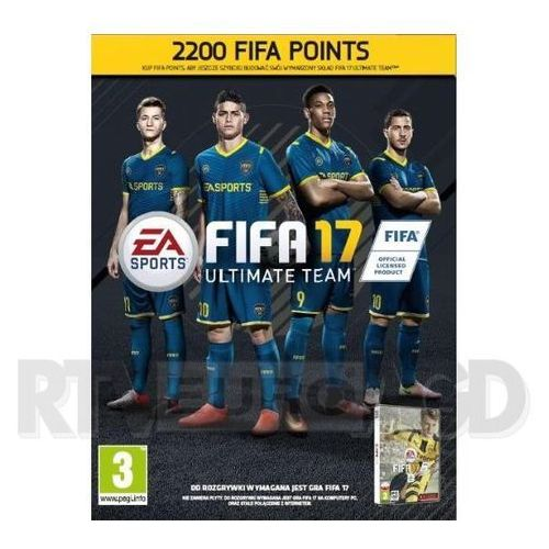Electronic arts Fifa 17 - 2200 punktów
