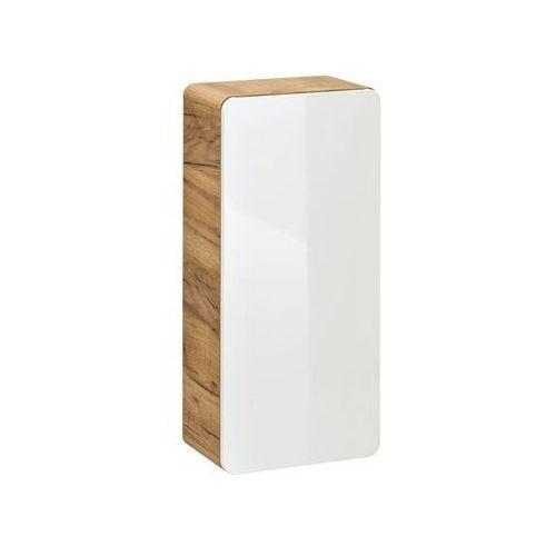 COMAD szafka niska Aruba oak/white (półsłupek) ARUBA810, kolor biały
