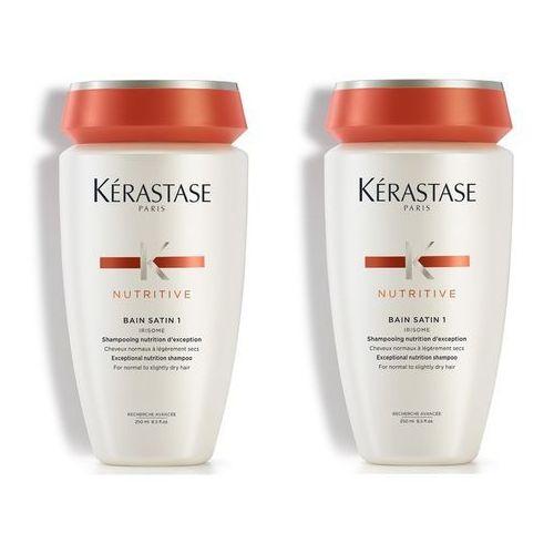 Kerastase nutritive | zestaw do włosów normalnych i suchych: kąpiel 2x250ml