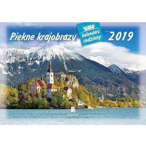 Lucrum Kalendarz 2019 rodzinny piękne krajobrazy wl4