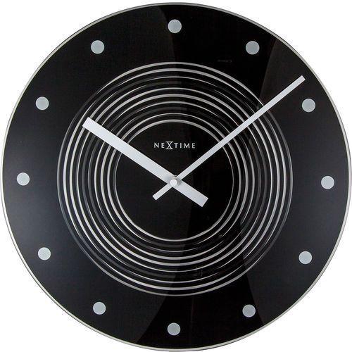 Nextime Pulsujący zegar ścienny concentric 35 cm (8638) (8717713021766)