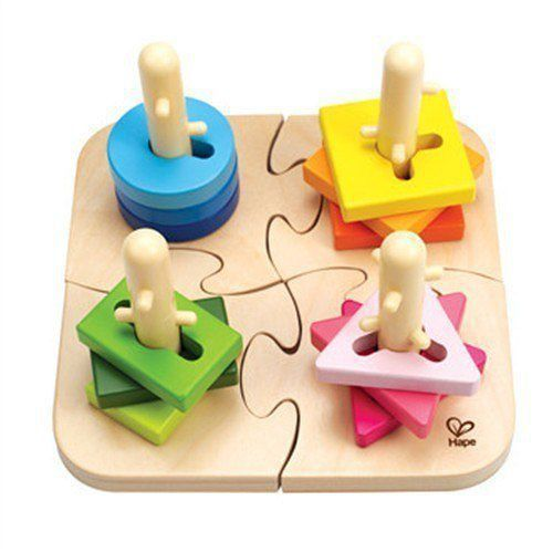 Hape puzzle do nakładania (6943478002586)