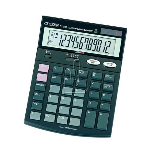 Citizen CT-666N DARMOWA DOSTAWA DO 400 SALONÓW !! - produkt z kategorii- Kalkulatory