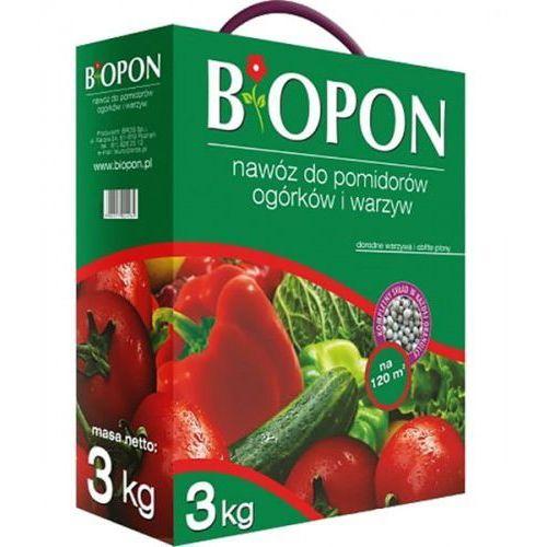 BIOPON nawóz granulowany do pomidorów, ogórków i warzyw 3 kg (5904517024984)