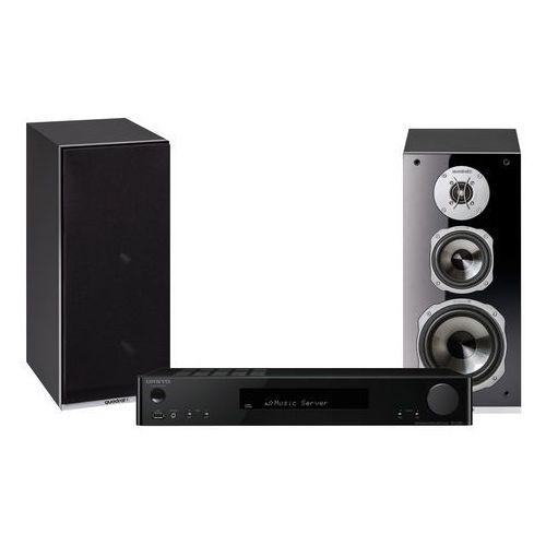Zestaw stereo ONKYO TX-L20 + QUADRAL Argentum 530 Czarny (2900315105613)
