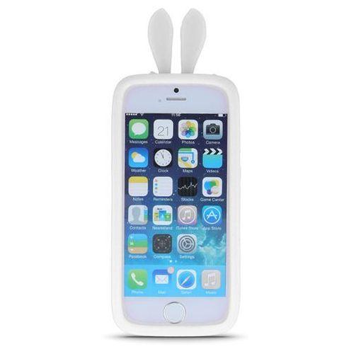 Uniwersalny bumper królicze uszy biały L (10cm), GSM017406