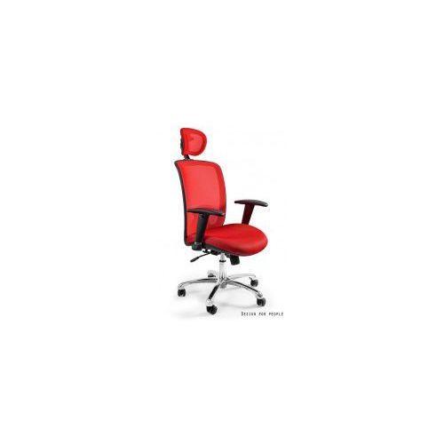 Krzesło biurowe Expander czerwone, W-94-2