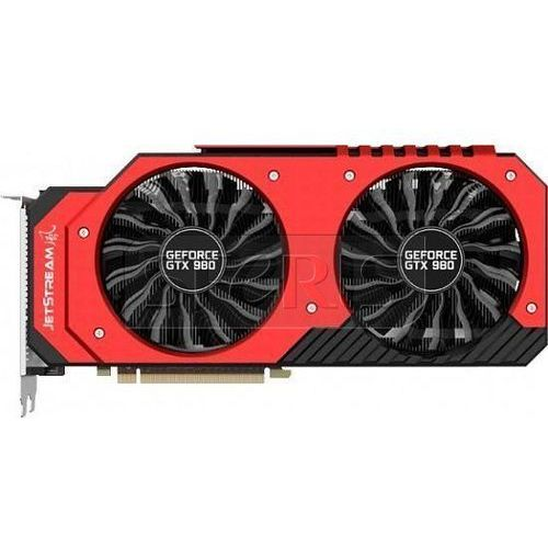 Karta graficzna  geforce gtx 980 4096mb ddr5/256b d/h/dp jetstream - ne5x980h14g2j od producenta Palit