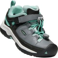 dziecięce buty trekkingowe targhee low wp blue steel grey/wasabi us 9 (25-26 eu) marki Keen