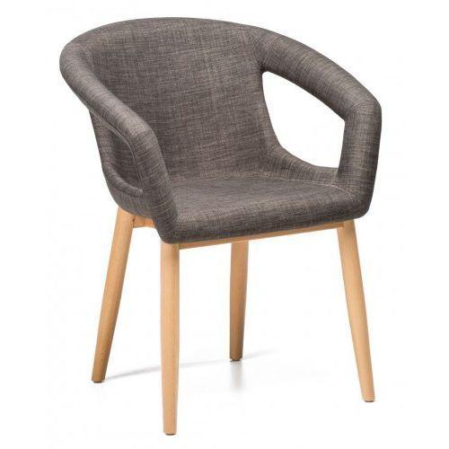 Krzesło almin szary ciemny (grafitowy) marki Malodesign