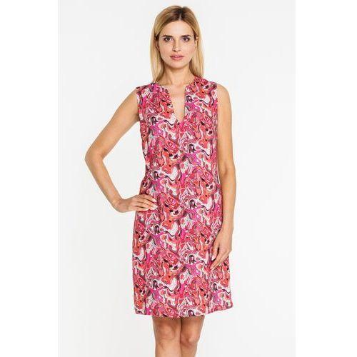 Sukienka na co dzień w intensywnych odcieniach - marki Tova