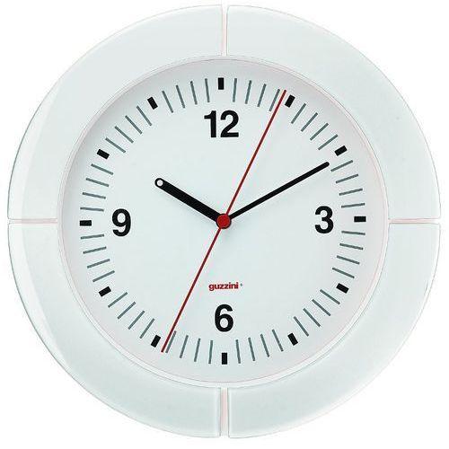Guzzini - zegar ścienny - casa - biały - biały