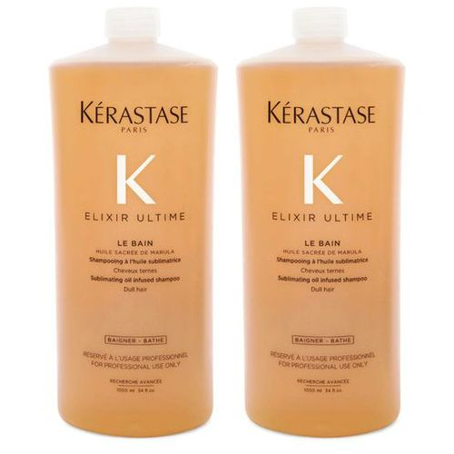 elixir ultime le bain | zestaw: kąpiel do każdego rodzaju włosów 2x1000ml marki Kerastase
