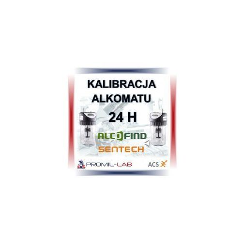 Kalibracja alkomatów (adiustacja) marki alkohit model X5 z certyfikatem adiustacji alkomatu