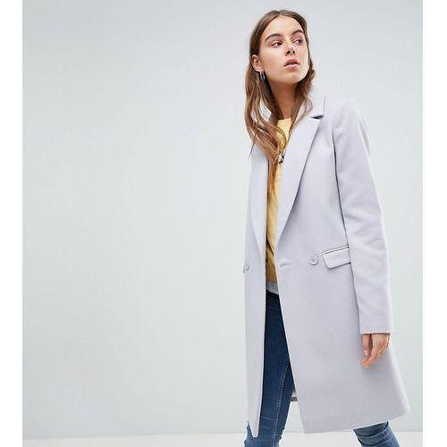 classic slim coat - grey, Asos tall