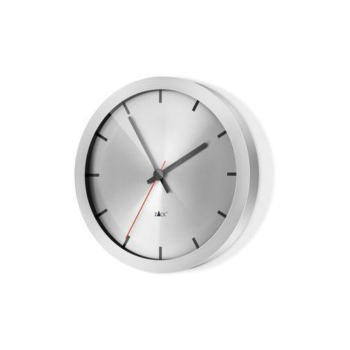 - zegar wiszący apollo - stal nierdzewna matowa marki Zack