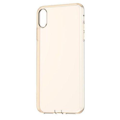 Baseus Simplicity żelowe etui iPhone XS Max Złote