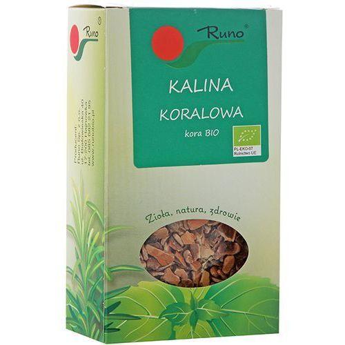 RUNO 50g Kalina koralowa kora Bio   DARMOWA DOSTAWA OD 150 ZŁ! (ziołowa herbata)