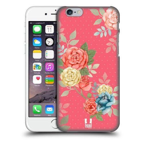 Etui plastikowe na telefon - Nostalgic Rose Patterns BLOOMS IN PINK