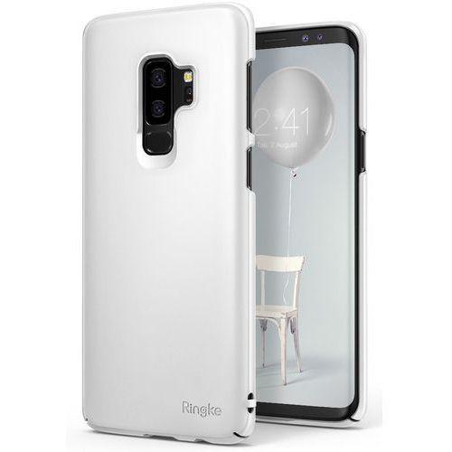 Etui Ringke Slim ultracienkie Samsung Galaxy S9 Plus G965 białe (8809583847970)