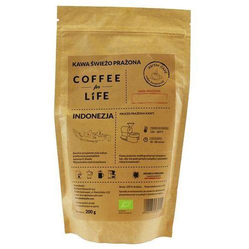 Ale'eko cafe (kawy arabica) Kawa 100% arabica mielona indonezja bio 200 g ale eko cafe (5904730489119)