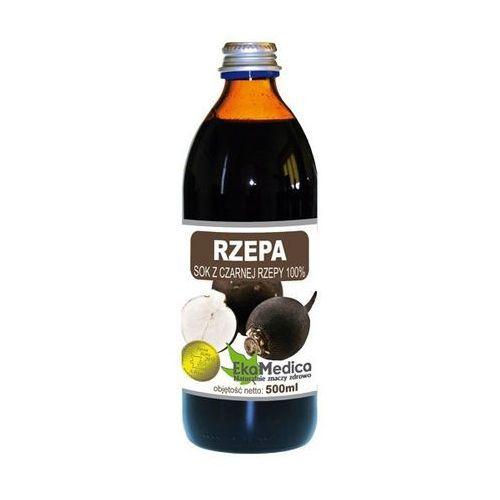 Sok z czarnej rzepy 100% bez cukru 500ml