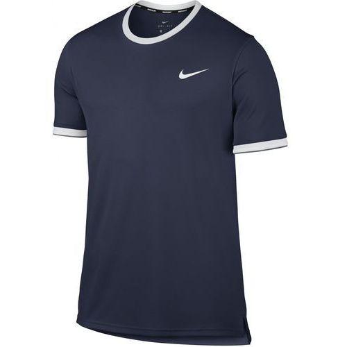 Nike męska koszulka sportowa M NKCT Dry Top Team Midnight Navy White XL, kolor niebieski