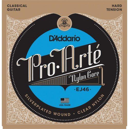 ej46 struny do gitary klasycznej marki D'addario