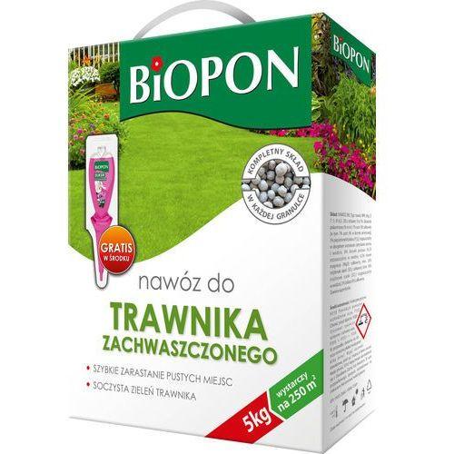 Biopon nawóz granulowany do trawnika zachwaszczonego 5 kg (5904517024977)